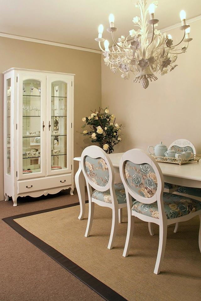 decoracao de interiores em estilo provencal: laranja.